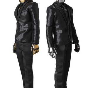 Daft Punk Real Action Set of 2 by Medicom Toy