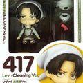 Cleaning Levi Nendoroid